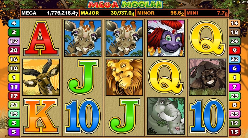 Mega Moolah Auszahlung
